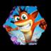 Bandicoot Crash Adventure