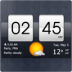 Sense式时钟和天气挂件 Sense Flip Clock Weather